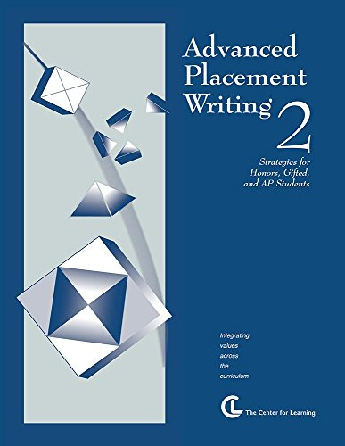 9781560776031: Advanced Placement Writing 2: Strategies for Honors, Gifted and AP Students