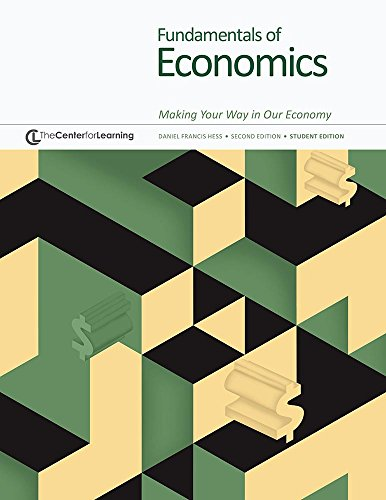Fundamentals of Economics: Making Your Way in