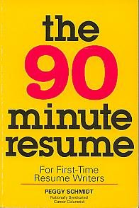 9781560791508: The 90 Minute Resume