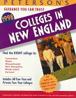 9781560797876: Peterson's Guide to Colleges in New England 1998 (14th ed)