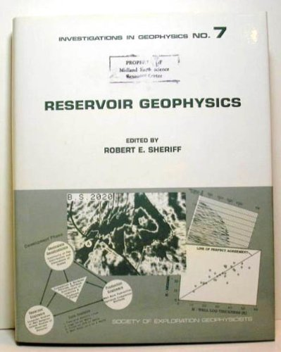 9781560800576: Reservoir Geophysics (Investigations in Geophysics)