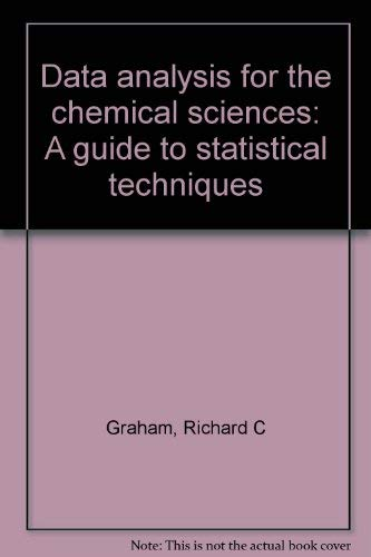9781560810483: Data analysis for the chemical sciences: A guide to statistical techniques by...
