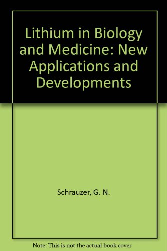 9781560811022: Lithium in Biology and Medicine: New Applications and Developments