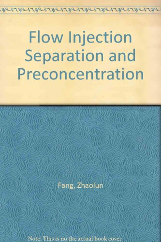 9781560811473: Flow Injection Separation and Preconcentration