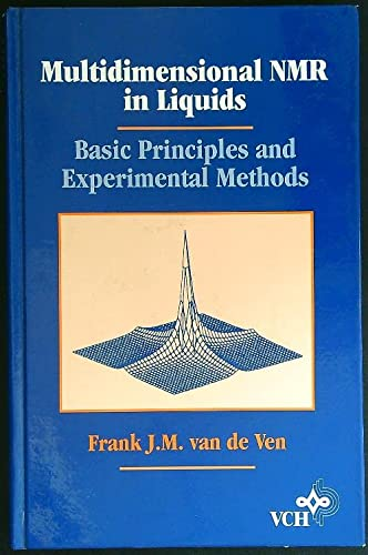 9781560816652: Multidimensional Nmr in Liquids: Basic Principles and Experimental Methods