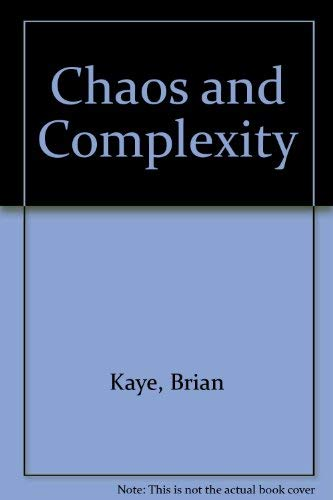 9781560817987: Chaos and Complexity