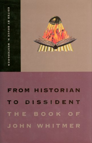 9781560850434: From Historian to Dissident: The Book of John Whitmer