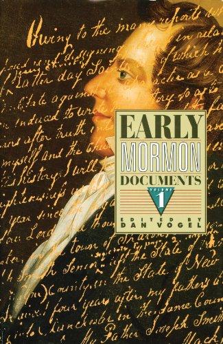 Early Mormon Documents: Dan Vogel