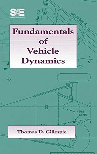 9781560911999: Fundamentals of Vehicle Dynamics (Premiere Series Books)