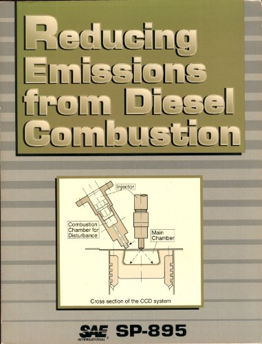 9781560912125: Reducing Emissions from Diesel Combustion (SP-895)