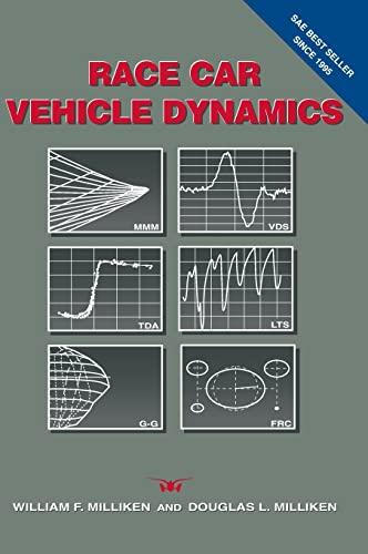 Race Car Vehicle Dynamics (R146) (Premiere Series): Milliken, William F.,