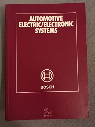 Automotive Electric Electronic Systems: Bosch