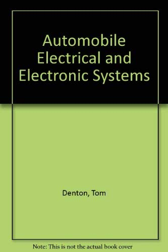 9781560917359: Automobile Electrical and Electronic Systems