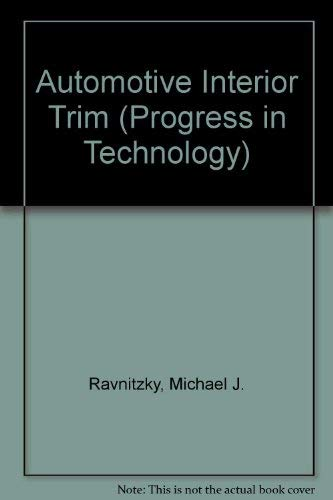 Automotive Interior Trim PT-64: Society of Automotive Engineers; Ravnitzky, Michael J.