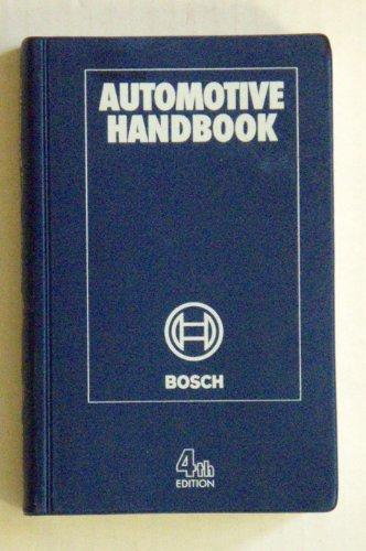 9781560919186: Bosch 4 Automotive Handbook