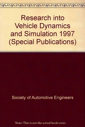 9781560919407: Research into Vehicle Dynamics and Simulation - 1997 (S P (Society of Automotive Engineers))