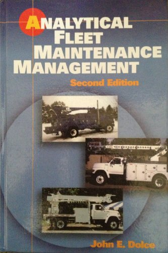 9781560919971: Analytical Fleet Maintenance Management