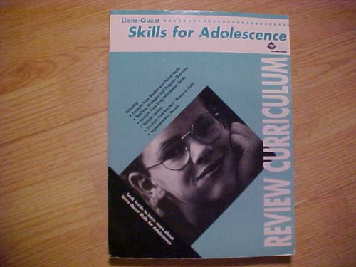 9781560950714: Lions Quest Skills for Adolescence (Skills for Adolescence Curriculum manual)