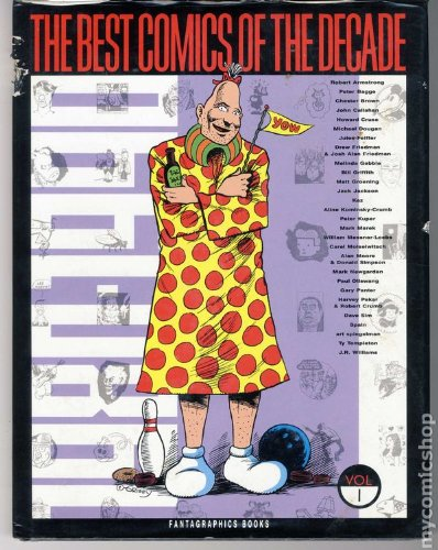 The Best Comics of the Decade 1980-1990, Volume I