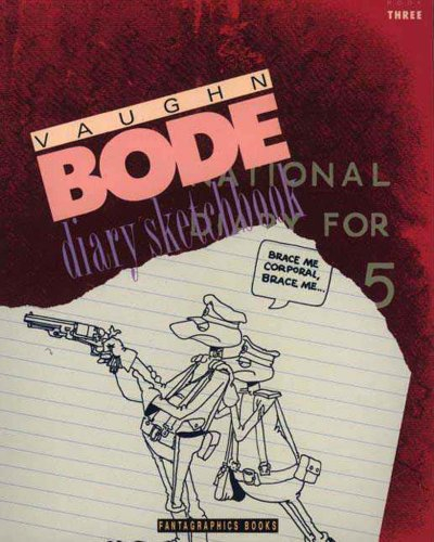 9781560970538: Vaughn Bode Diary Sketchbook Book 3