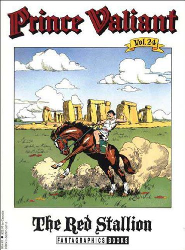 Prince Valiant, Vol. 24: The Red Stallion (1560971673) by Harold Foster
