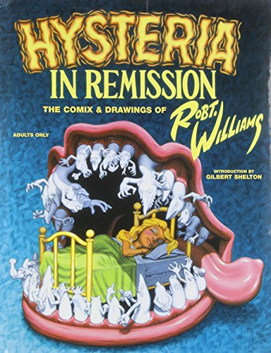 9781560975212: Hysteria in Remission: Comix & Drawings