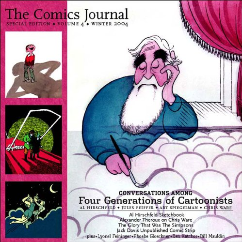 9781560975380: The Comics Journal: Cartoonists on the Shock of Recognition (Comics Journal Special)