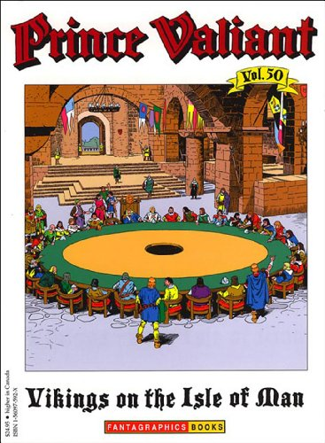 9781560975922: Prince Valiant, Vol. 50: Vikings on the Isle of Man
