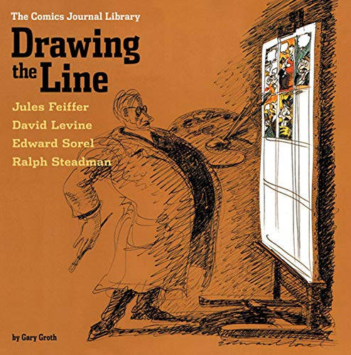 9781560975977: The Comics Journal Library: Drawing the Line (Vol. 4) (The Comics Journal) (v. 4)