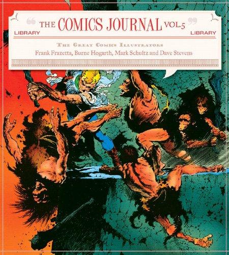 The Comics Journal Library V , Classic comics illustrators: Russ Heath, Burne Hogarth, Russ Manning...