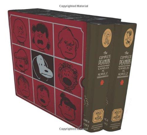 9781560976875: The Complete Peanuts 1955-1958 Box Set