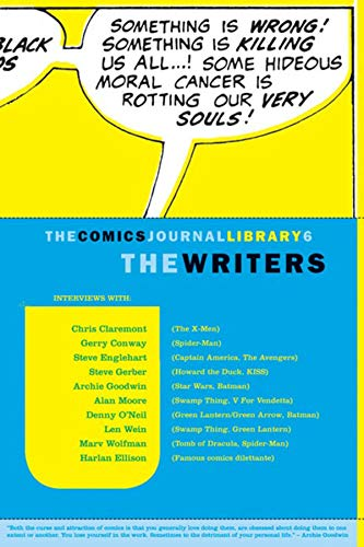 9781560976967: The Comics Journal Library 6: The Writers