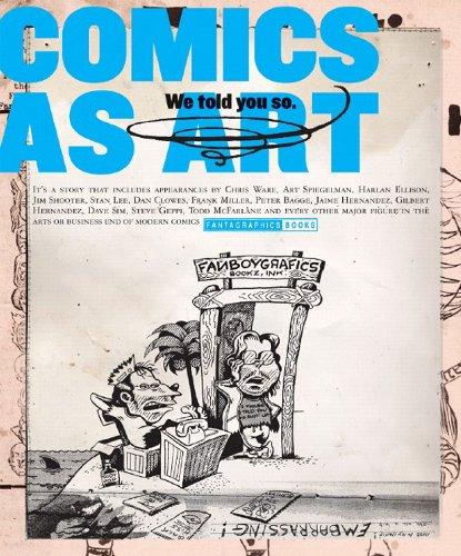 9781560977384: Comics As Art We Told You So