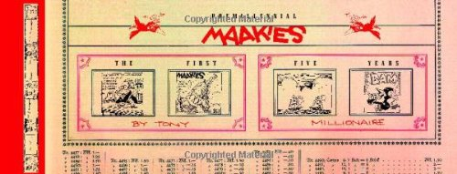 Premillennial Maakies: The First Five Years: Millionaire, Tony