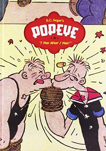 9781560977797: Popeye, Vol. 1: I Yam What I Yam