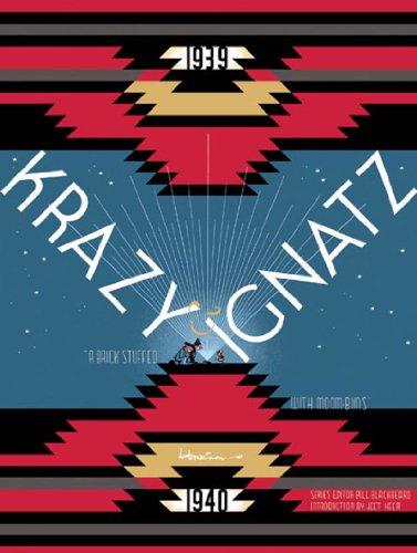 """Krazy & Ignatz 1939-1940: """"A Brick Stuffed with Moom-bins"""" (Krazy and Ignatz): ..."""