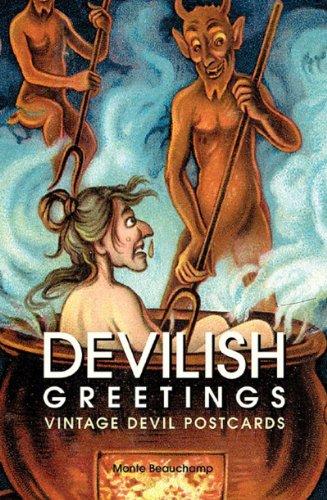 9781560978718: Devilish Greetings: Krampus Vintage Devil Postcards