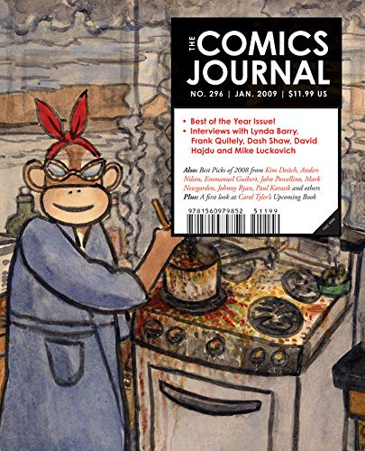 9781560979869: The Comics Journal #296