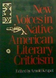 NEW VOICES/NATIVE AMERN LIT (Smithsonian Series of Studies in Native American Literatures)