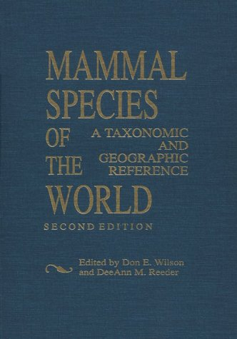 9781560982173: Mammal Species of the World. A taxonomic and geographic reference. 2nd edition. (Smithsonian Series in Comparative Evolutionary Biology)