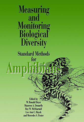 9781560982845: Measuring and Monitoring Biological Diversity. Standard Methods for Amphibians (Biological Diversity Handbook)