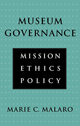 9781560983637: Museum Governance. Mission, Ethics, Policy