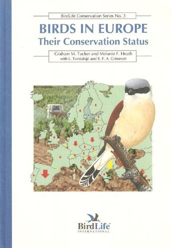 9781560985273: Birds in Europe:  Their Conservation Status (Birdlife Conservation Series No. 3)