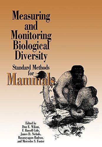 9781560986379: Measuring and Monitoring Biological Diversity: Standard Methods for Mammals (Biodiversity Handbook)
