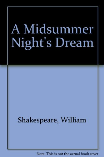 9781561036738: A Midsummer Night's Dream