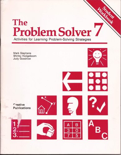 9781561070541: The Problem Solver 7 (Activities for Learning