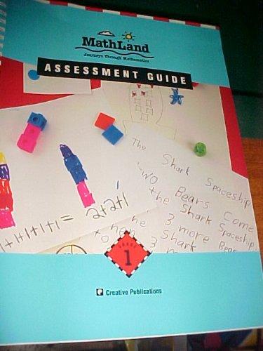 9781561072743: Mathland Journeys Through Mathematics ~ Assessment Guide - Grade 1
