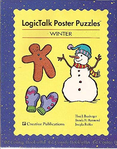 9781561073597: LogicTalk poster puzzles: Winter