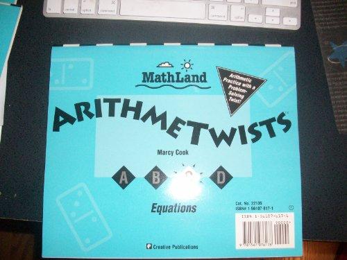 9781561076178: MathLand Arithmetwists, Equations & Number Patterns, Book C Grade 1