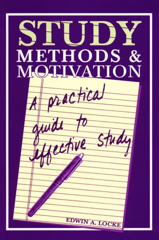 9781561144440: Study Methods & Motivation: A Practical Guide to Effective Study